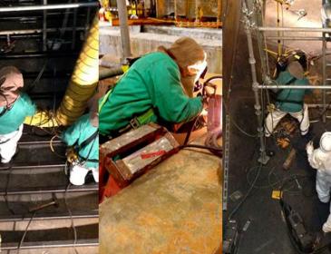 Chem Mill Tank Repair